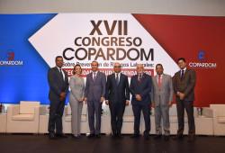 Ministro de Trabajo apertura XVII Congreso Copardom sobre Prevención de Riesgos Laborales