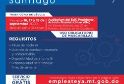 Ministerio de Trabajo invita a los interesados depositar currículo vitae para optar por diversas vacantes de empleo