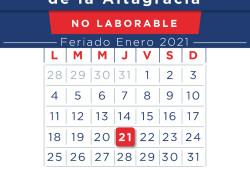 """Ministerio de Trabajo reitera feriado Día de la Altagracia """"no se cambia"""""""